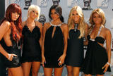 The Pussycat Dolls show off their bodies at 2008 MTV Movie Awards