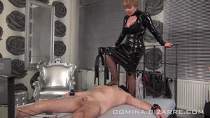 Domina-Bizarre: Lady Mercedes - My private Slave- Part 4