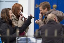 Карен Гиллан, фото 144. Karen Gillan - On The Set Of Doctor Who In Cardiff - 4/5/12, foto 144