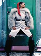 Шанель Иман, фото 3. Chanel Iman - Flare Canada - Oct 2010 (x12), photo 3