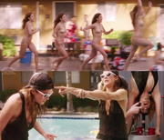 Kate Walsh bikini Bad Judge S1 E10 Collage