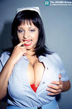 Busty Chaz the sexy mixed nurse babe - image # 2