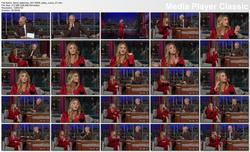 Kaley Cuoco @ Late Show w/David Letterman 2011-09-29