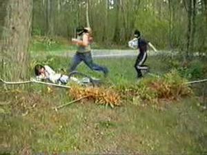 Double rape in the woods