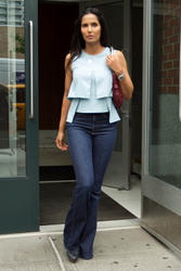Padma Lakshmi - Out and About In Jeans in New York - (6/18/15)